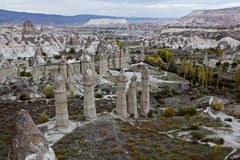 Cappadocia: Vale do amor imagem de stock