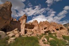 Cappadocia, valle dello zelve fotografie stock libere da diritti