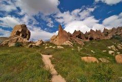 Cappadocia, valle dello zelve Immagini Stock Libere da Diritti