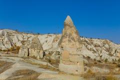 Cappadocia valley, Goreme Royalty Free Stock Images