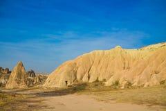 Cappadocia valley rock formations Stock Image