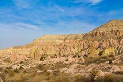 Cappadocia valley rock formations Royalty Free Stock Image