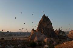 Cappadocia valley, Turkey. Royalty Free Stock Images