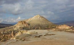 Cappadocia view in winter Royalty Free Stock Photo