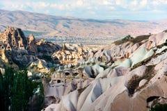 Cappadocia volcanic landscape Stock Photos