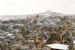 Cappadocia in winter Stock Photo