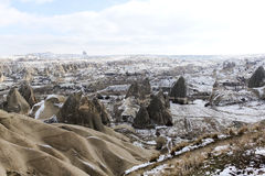 Cappadocia in winter Stock Image