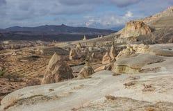 Cappadocia in winter Royalty Free Stock Photo