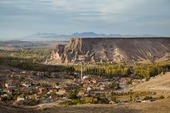 Cappadocia, Yaprakhisar village Royalty Free Stock Photos