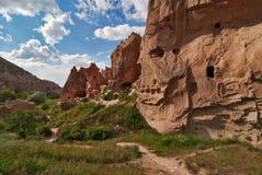 Cappadocia, zelve Tal Stockfotos