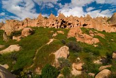 Cappadocia, zelve Tal Stockfoto