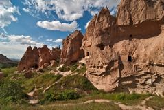 Cappadocia, zelve valley Stock Photography