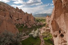 Cappadocia, zelve valley Royalty Free Stock Photography