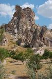 cappadociabildande vaggar kalkonen Arkivbilder