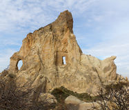 cappadociabildande vaggar kalkonen Arkivbild