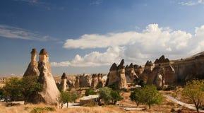 cappadociadal Arkivfoton