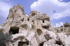 cappadociaen landscapes rocken arkivfoton