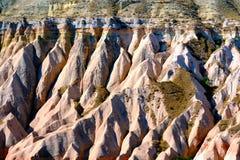 cappadociaerosionresultat arkivbilder