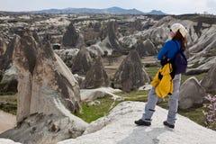 cappadociaflicka Fotografering för Bildbyråer