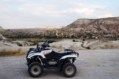Cappadocialandschap ATV Royalty-vrije Stock Fotografie