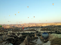Cappadocialandschap bullon Royalty-vrije Stock Foto's