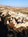 Cappadocialandschap bullon stock foto's