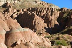 Cappadocialandschap, Turkije Stock Afbeelding