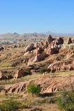 Cappadocialandschap, Turkije Royalty-vrije Stock Foto's