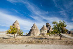 Cappadocian fairy chimneys Stock Photography