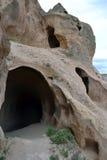 Cappadocian grottor royaltyfri fotografi