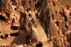 Cappadocian homes Stock Photos