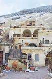 The Cappadocian  house Stock Photography