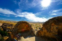 Cappadocian landscape Stock Photo