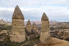 Cappadocian landscape Royalty Free Stock Image