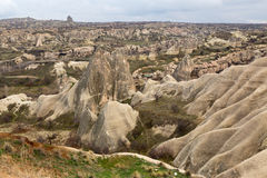 Cappadocian landscape Royalty Free Stock Photo