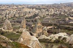 Cappadocian landscape Royalty Free Stock Images