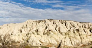 Cappadocian Landscape in Turkey Royalty Free Stock Photo