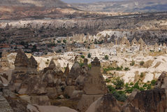 Cappadocian landscape, Turkey Royalty Free Stock Image