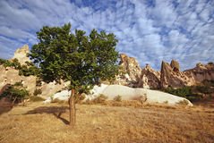 Cappadocian landscape, Turkey Stock Photography