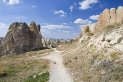 Cappadocian path Stock Photos