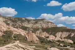 Cappadocian stenigt landskap Royaltyfria Bilder