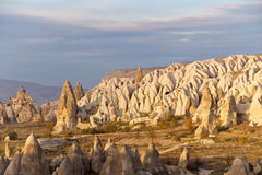 Cappadocian Valley in Central Anatolia, Turkey Stock Image