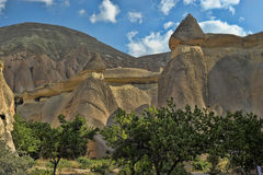 Cappadocian Valley Royalty Free Stock Image