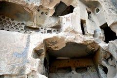 Cappadocianholen Royalty-vrije Stock Afbeeldingen