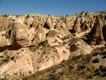 Cappadocoia, Turkije Royalty-vrije Stock Foto