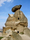 Cappadokia cave city and rock formation stock images