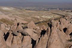 Cappadokia mountains Royalty Free Stock Photo