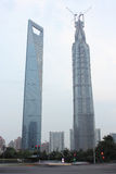 Capped Jinmao Tower Stock Images