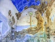 Cappella abbandonata Immagine Stock