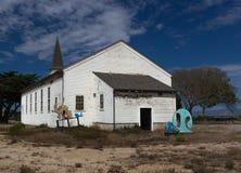 Cappella abbandonata a Ord forte storico fotografia stock libera da diritti